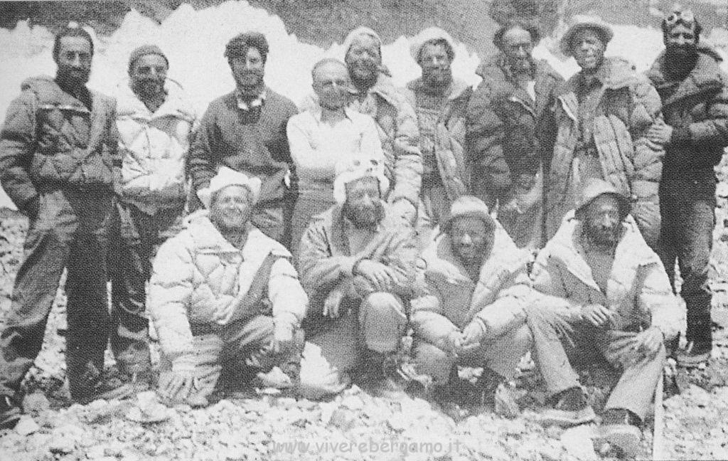 spedizione italiana prima scalata K2  del 31 luglio 1954