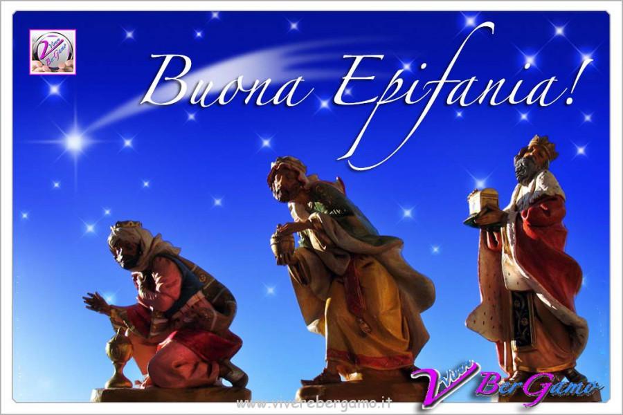 Buona Epifania Bergamo Re Magi