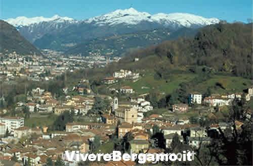immagini paese di Pradalunga comune bergamo Valle seriana