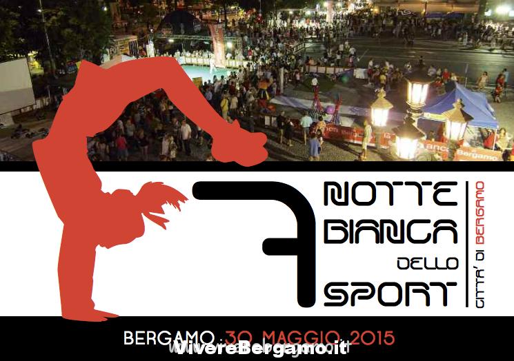 notte bianca dello sport bergamo 2015