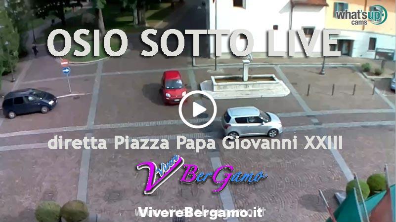 Web Cam Osio Sotto Piazza Papa Giovanni XXIII