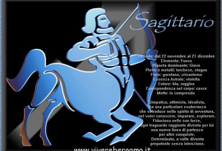 Segno zodiacale sagittario