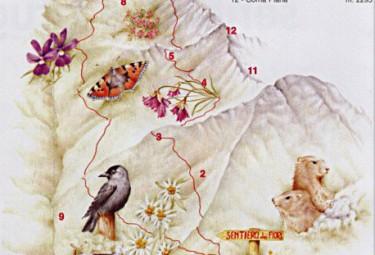 cartina sentiero dei fiori