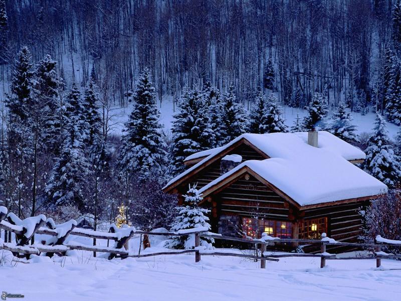chalet-coperto-di-neve,-foresta,-inverno-149690