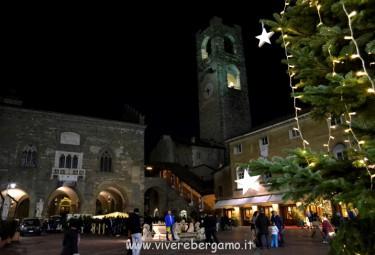 città alta Notte bianca Bergamo