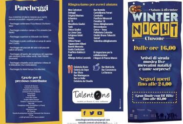 Programma winter Night Clusone 2015