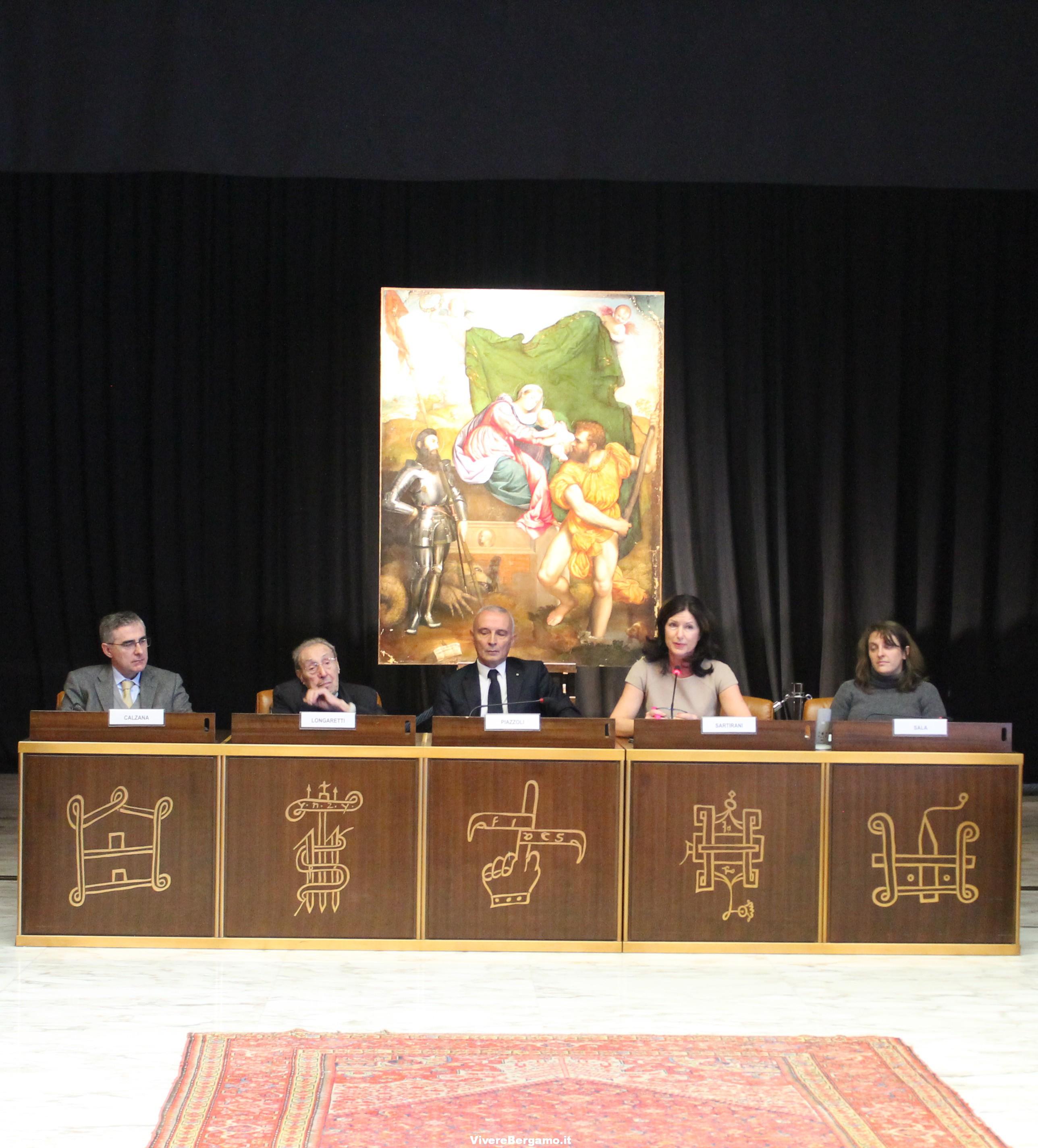 Conferenza stampa - tavolo relatori