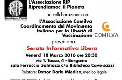 Serata Vaccini Bergamo