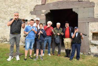 I partecipanti al primo convegno internazionale sui corni alpini. Berzo Inferiore, giugno 2015