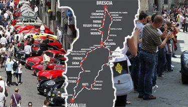 Mille Miglia 2016 Bergamo