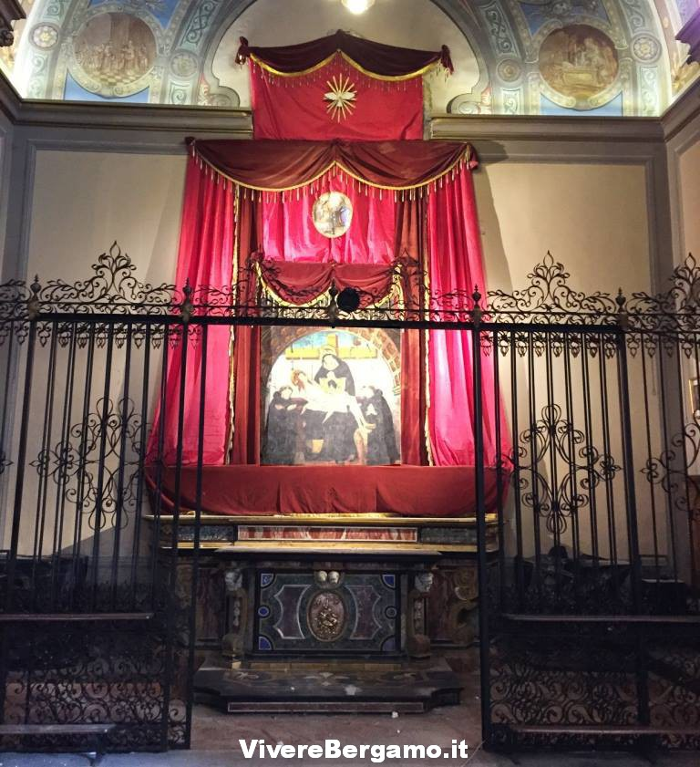 Lavori di restauro Cappella dell'Addolorata Clusone
