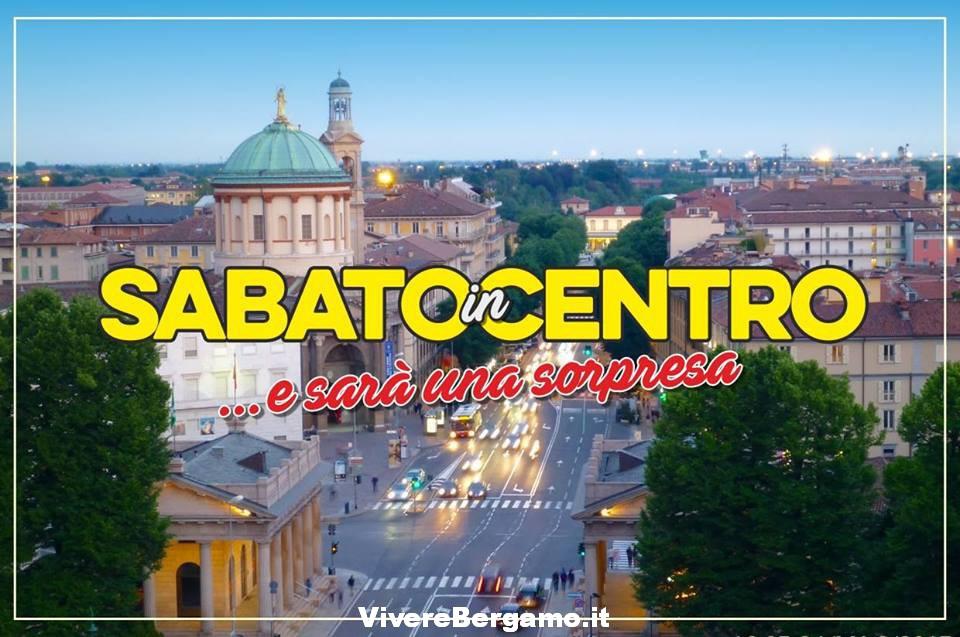 Sabato in centro Bergamo