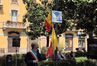 WI FI libero in Piazza Sant'Anna Bergamo