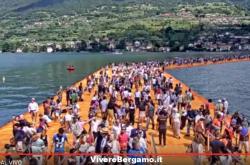 Diretta Passerella Lago Iseo Italia