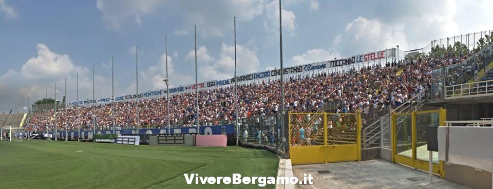 Vista dal Campo Stadio Atalanta