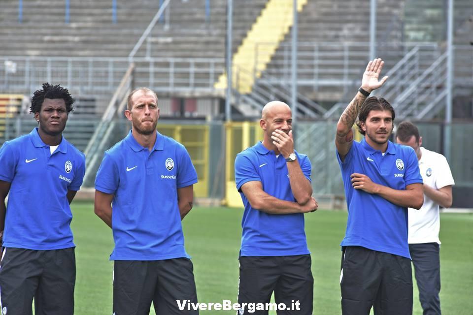 Paloschi con i nuovi Compagni atalanta 2016:2017