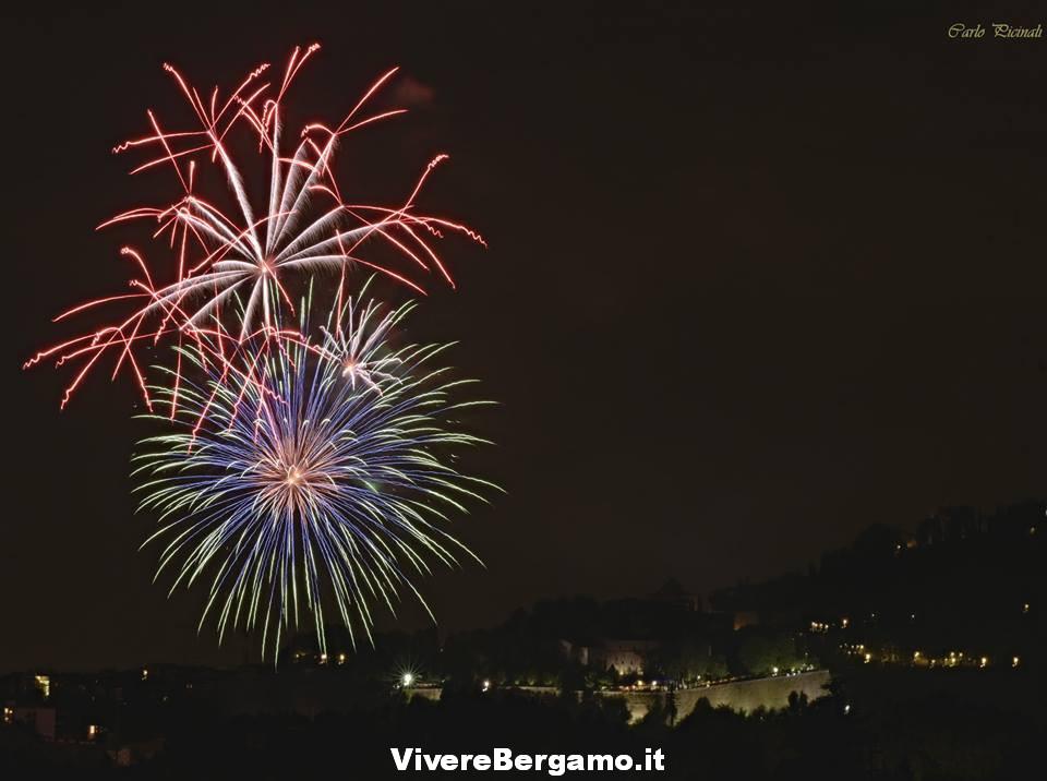 Fuochi stadio 2016 Festa Borgo santa Caterina Bergamo
