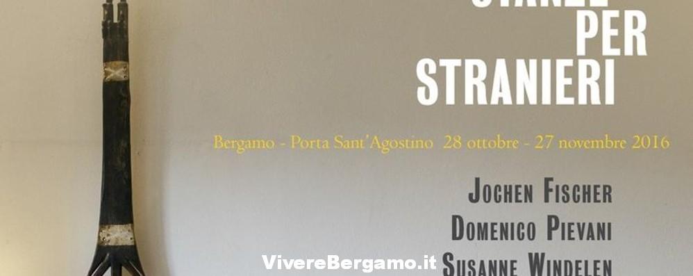 Mostra Stanze per stranieri Bergamo