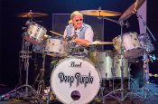 "IAN PAICE ""Deep Purple"" Druso Ranica Bergamo"