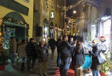 La Notte Bianca Bergamo alta il 15 dicembre