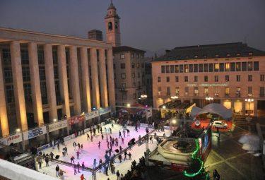 Pista di patinaggio a Bergamo