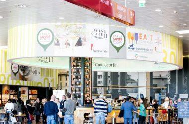 Il menu East Lombardy nell'area di ristorazione a Orio al Serio