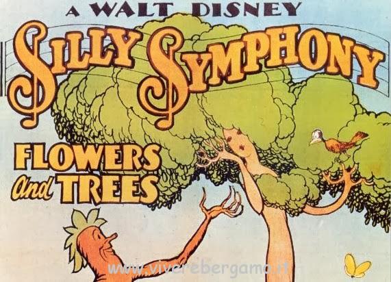 Fiori e alberi primo cartone animato in Tv a colori 30 luglio 1932