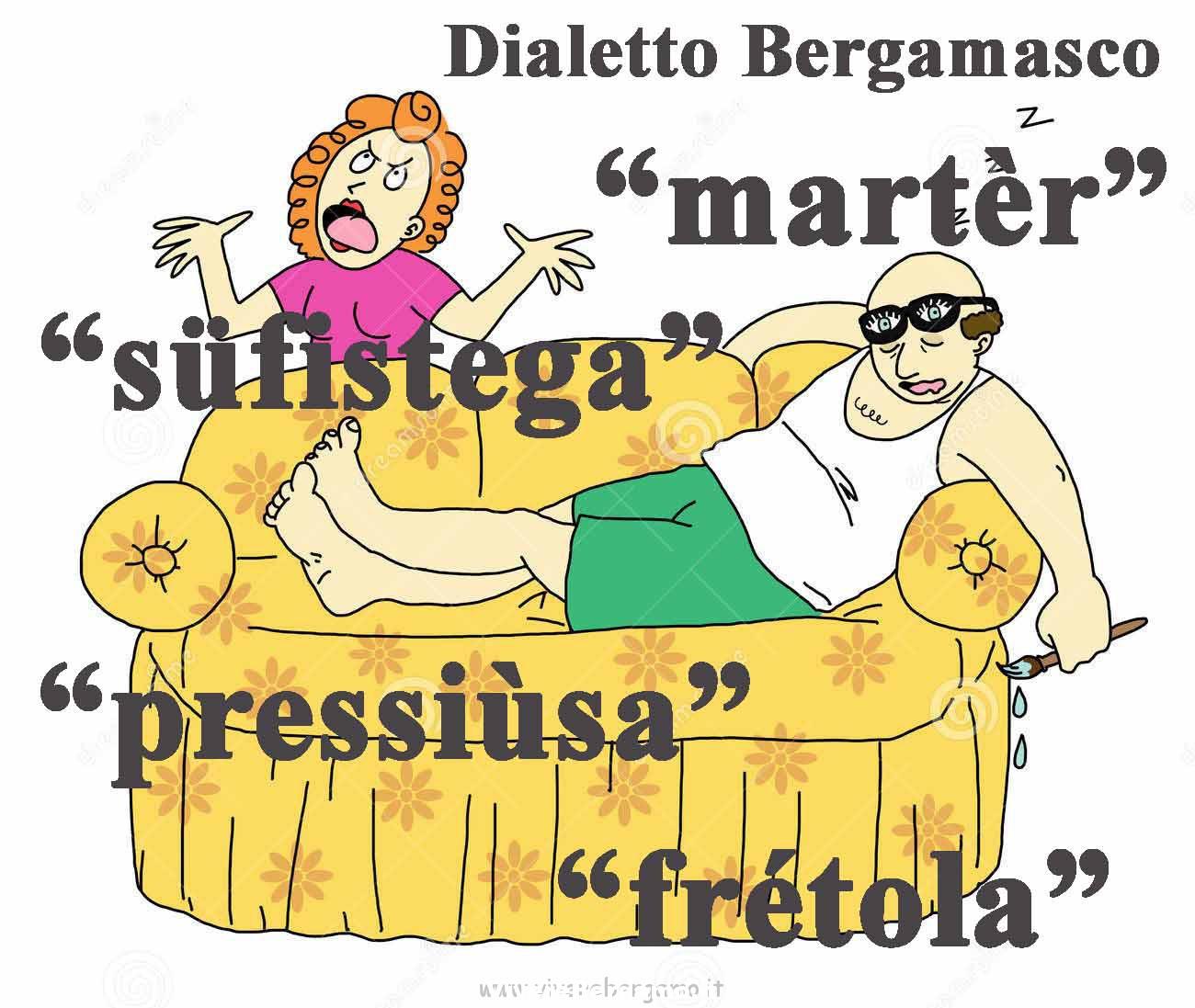 aggettivi spregiativi in dialetto bergamasco