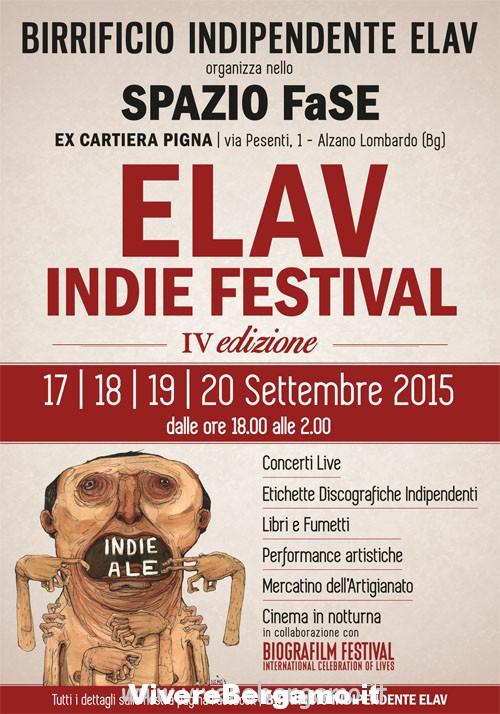 Elav Indie Festival alzano lombardo