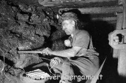 minatore a Marchinelle - museo di Nembro