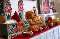 Altare per il Losar, Capodanno tibetano