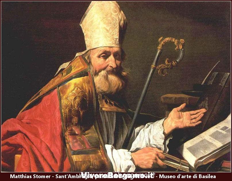Sant Ambrogio Patrono Ornica Verdellino