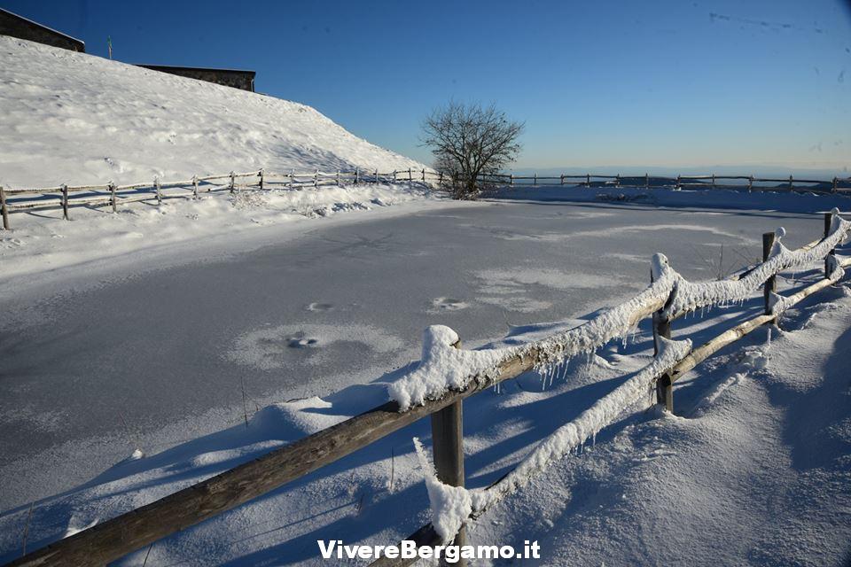 Foto Inverno a bergamo