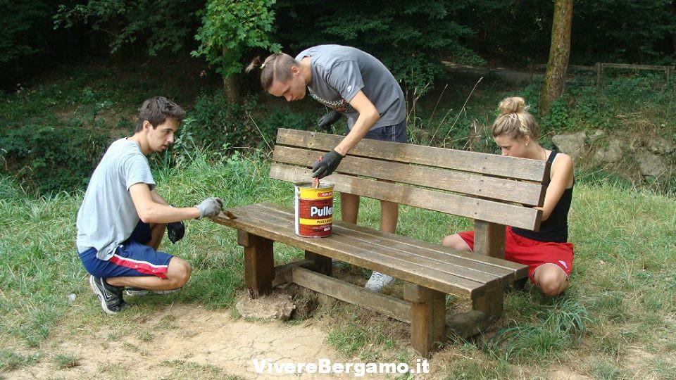 Progetto volontari giovani Bergamo