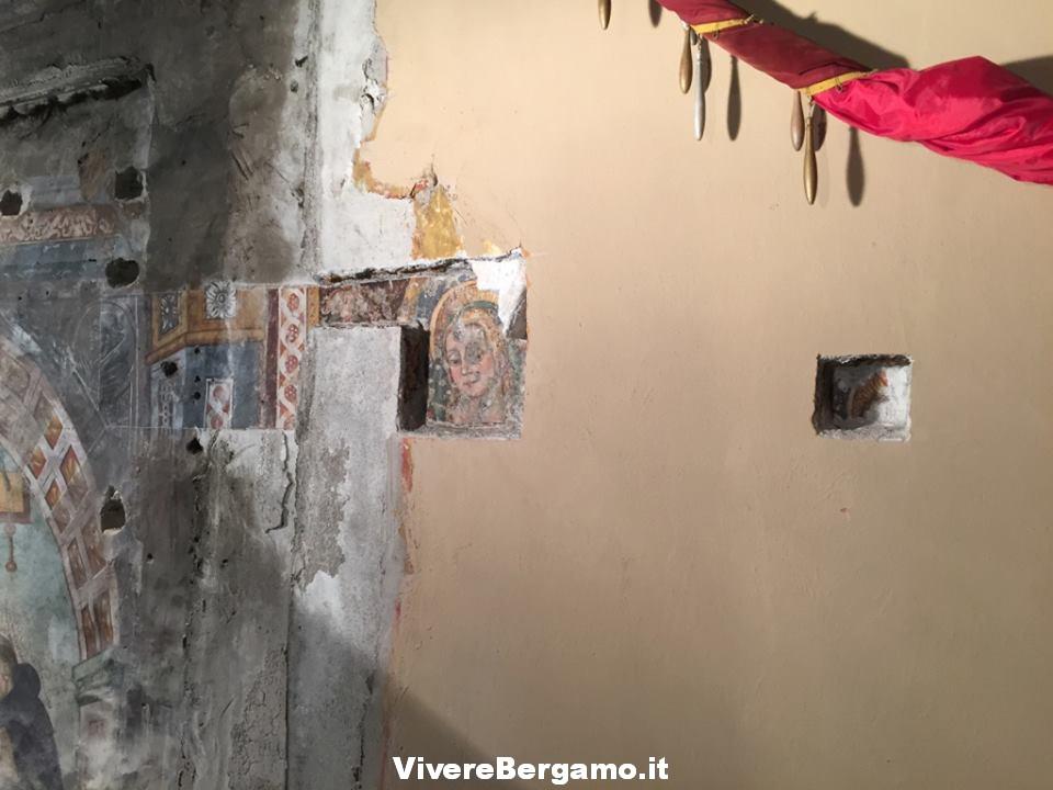 Restauro affreschi Cappella dell'Addolorata Clusone