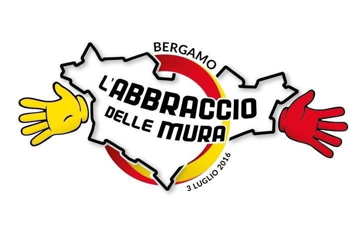 Abbraccio delle mura di Bergamo Alta