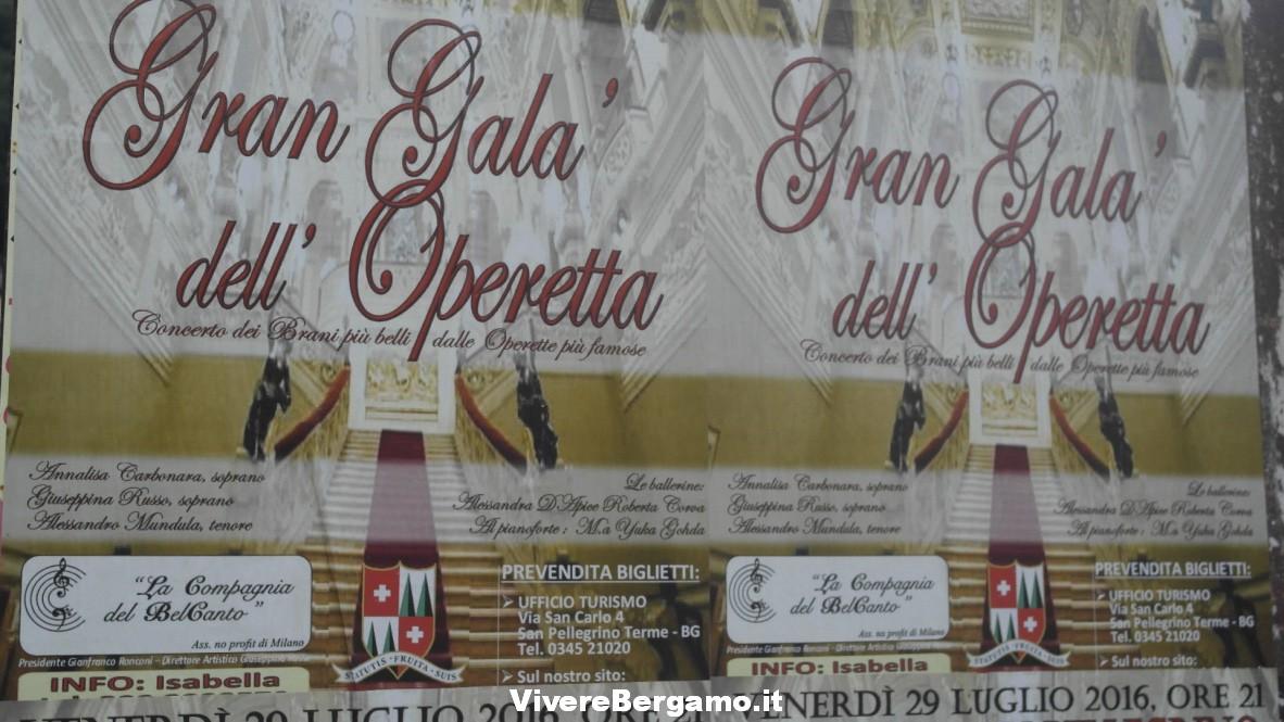 Gran Galà dell'operetta -San Pellegrino Terme