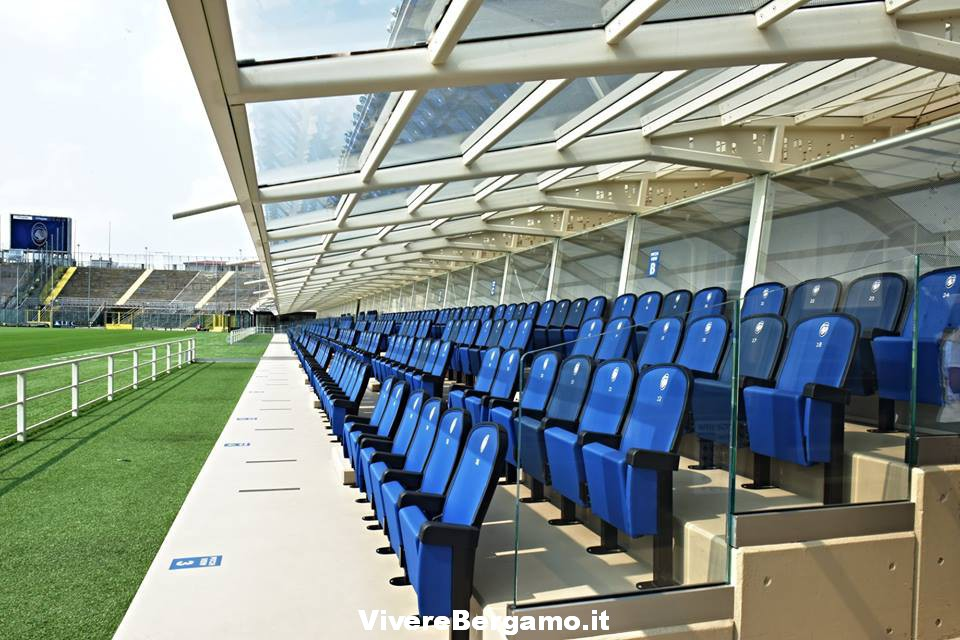 Tribuna stadio Bergamo
