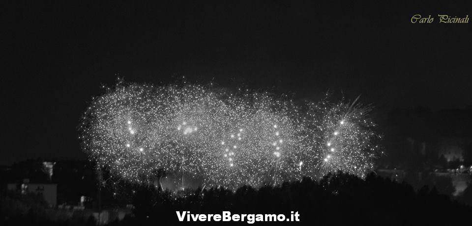 Fuochi stadio 2016 Borgo santa Caterina Bergamo