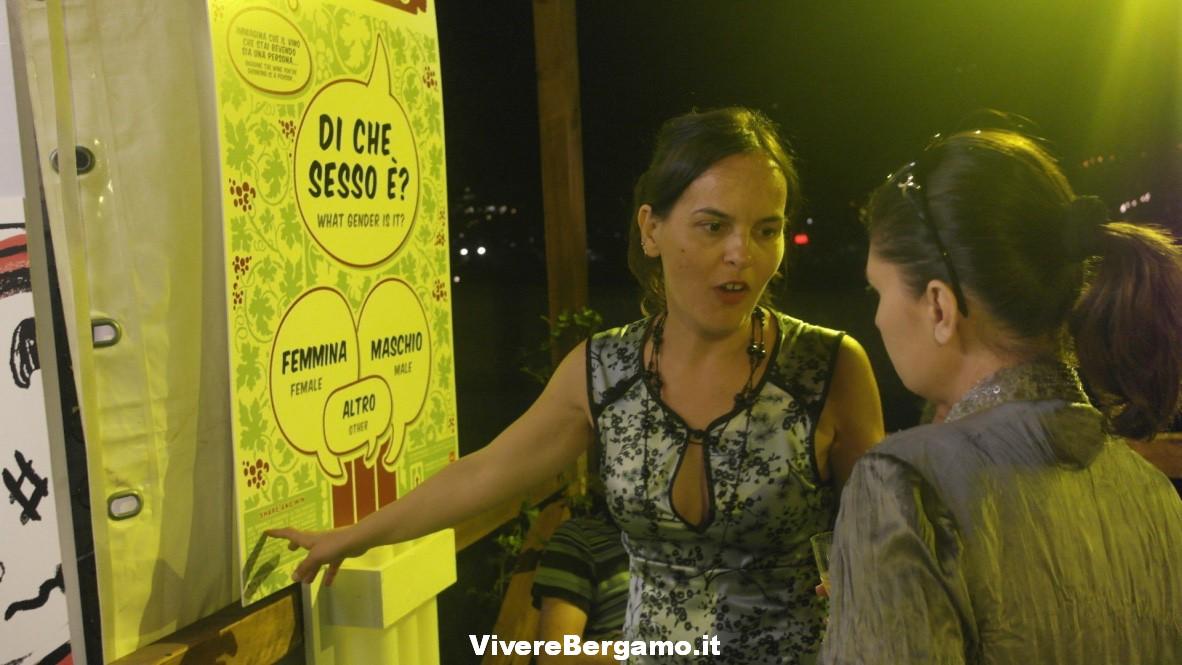 Patrizia Capoferri, Organizzazione VinoUmano, Bergamo