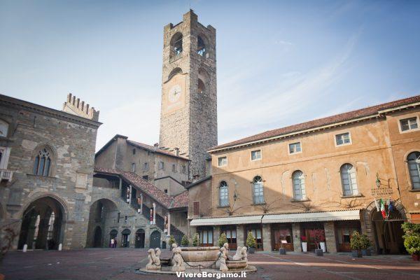 Palazzo Podesta' Piazza Vecchia Bergamo