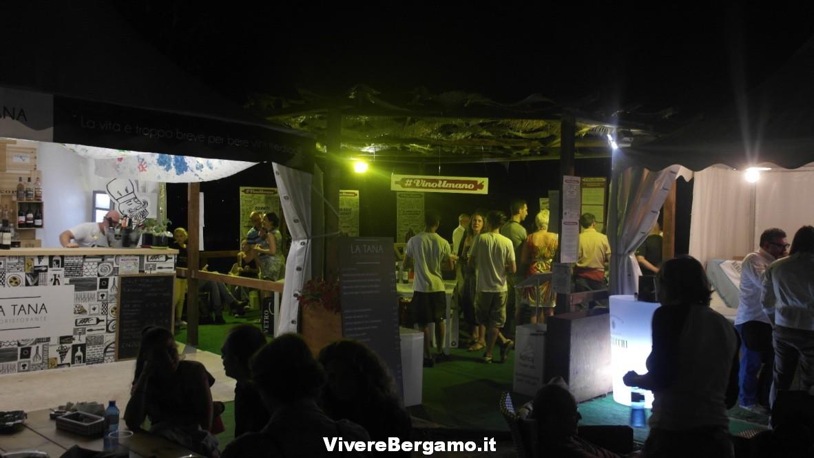 Vino umano, Bergamo