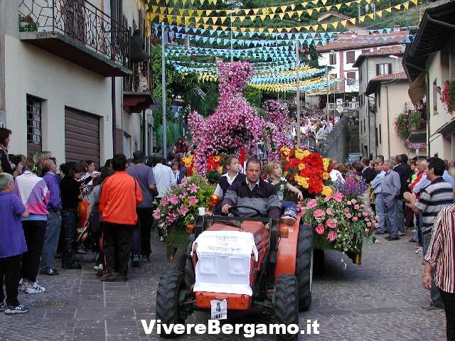 41° Festa dell' uva e dei fiori 2016 Foresto Sparso bergamo
