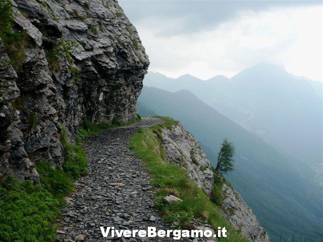 La panoramica Sentiero estivo