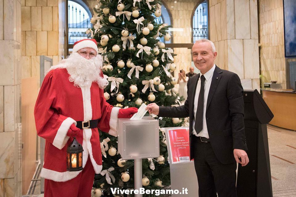 Babbo Natale Bergamo