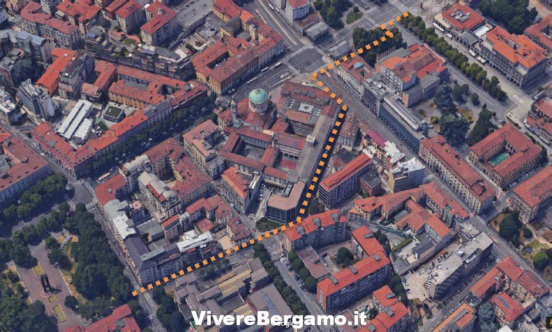 Nuova ciclabile Bergamo