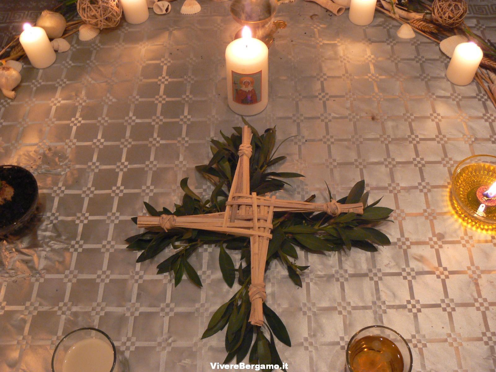 La croce di Santa Brigida d'Irlanda