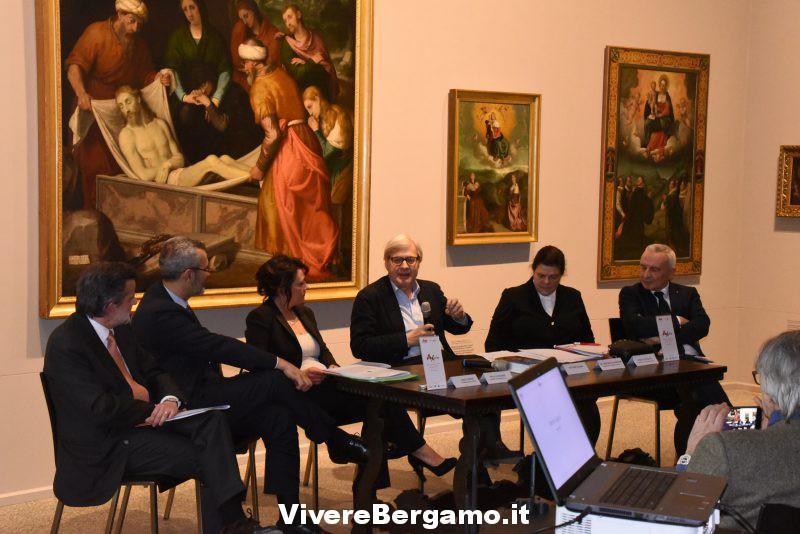 Incontro con Sgarbi a Bergamo