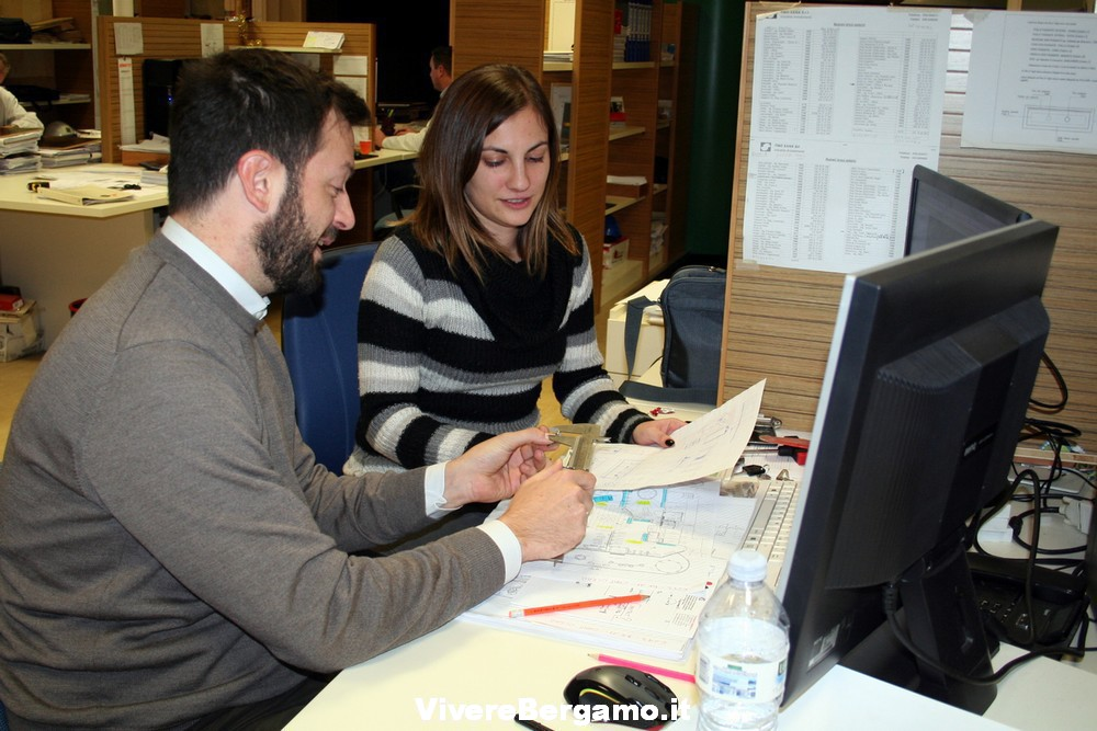 Tirocinanti Alba Vergalito con Marco Scancella