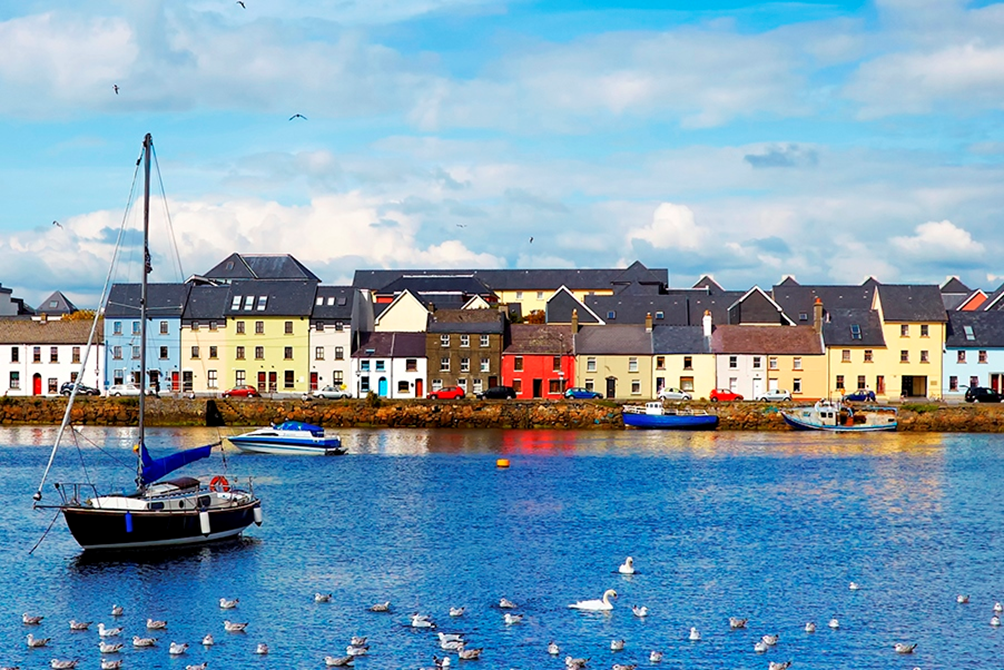 claddagh bay Irlanda